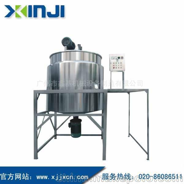 去渍剂搅拌罐 去油剂搅拌机 除油剂生产设备