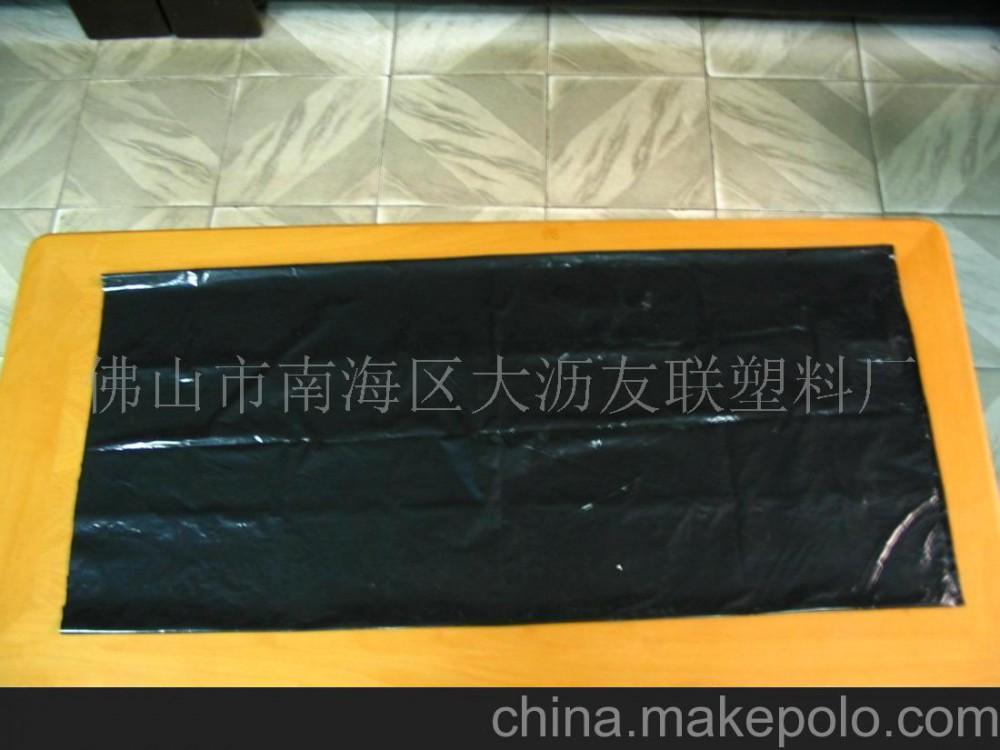 批发黑色连卷垃圾袋、平口垃圾袋、工业垃圾袋、超市垃圾袋