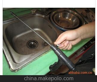 塑料疏通管道 手摇式疏通管道 马桶疏通器 管道疏通器
