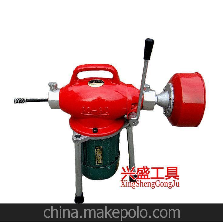 管道疏通机 电动疏通器 马桶疏通器 铜芯疏通机 100mm管道