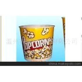 现货 批发一次性爆米花桶食品级材质(无荧光剂)QS特厚型