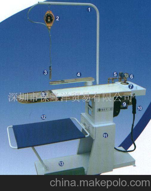 供应绿洲牌QZT-C高效冷热去渍台(图)