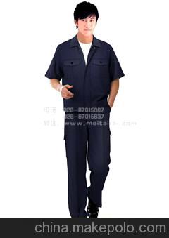 时尚五金工作服定做物业管理工作服款式 成都工装装修服装