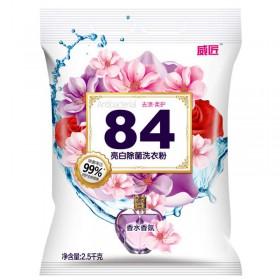 84亮白除菌洗衣粉