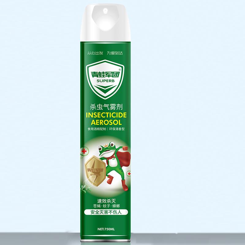 速效杀灭 环保清香 杀虫气雾剂