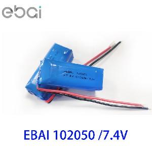 7.4V聚合物锂电池102050两串沈阳7.4V KC电池 7.4V锂电池组沈阳